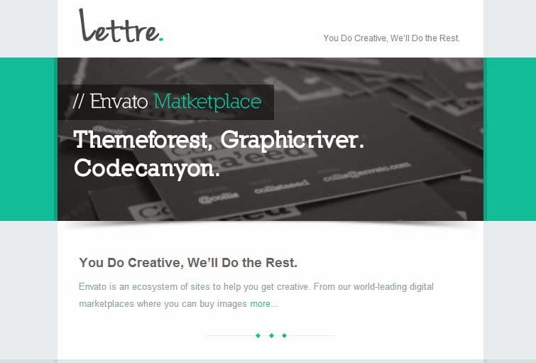 Lettre – Responsive Email Template