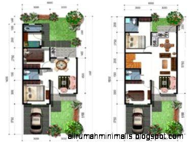 Gambar 3D Rumah Type 36 Modern Minimalis 2015   Rumah Type 36