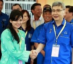 Datuk Mah Siew Keong Lawan Dyana Sofya Mohd Daud PRK Parlimen Teluk Intan