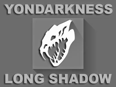 Desain Yondarkness Flat Long Shadow