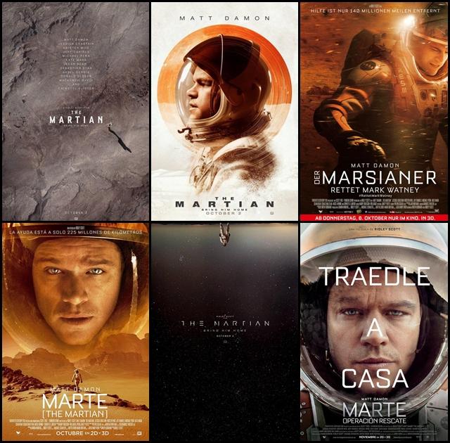 Marte, The Martian, Ridley Scott