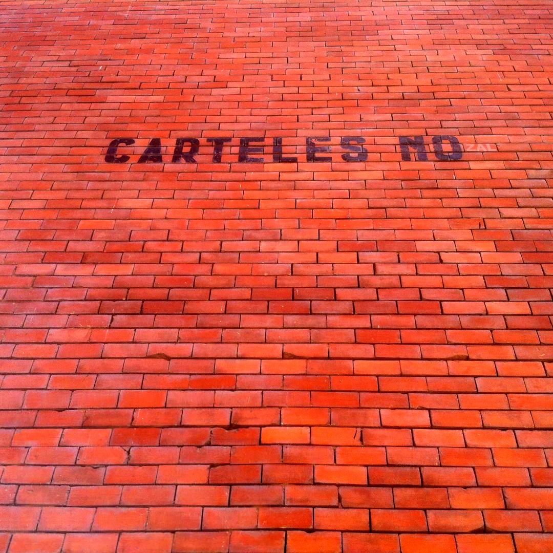 Carteles No, 2014 Abbé Nozal