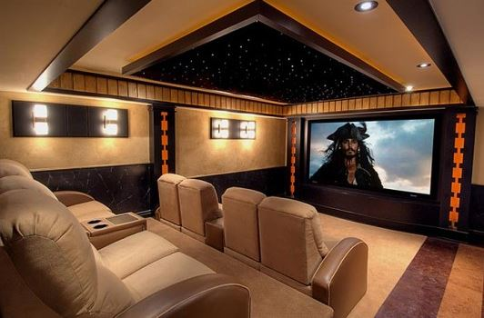 Complete your home theater setup with home theater seating - Home ...