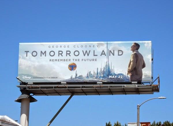 Tomorrowland movie billboard