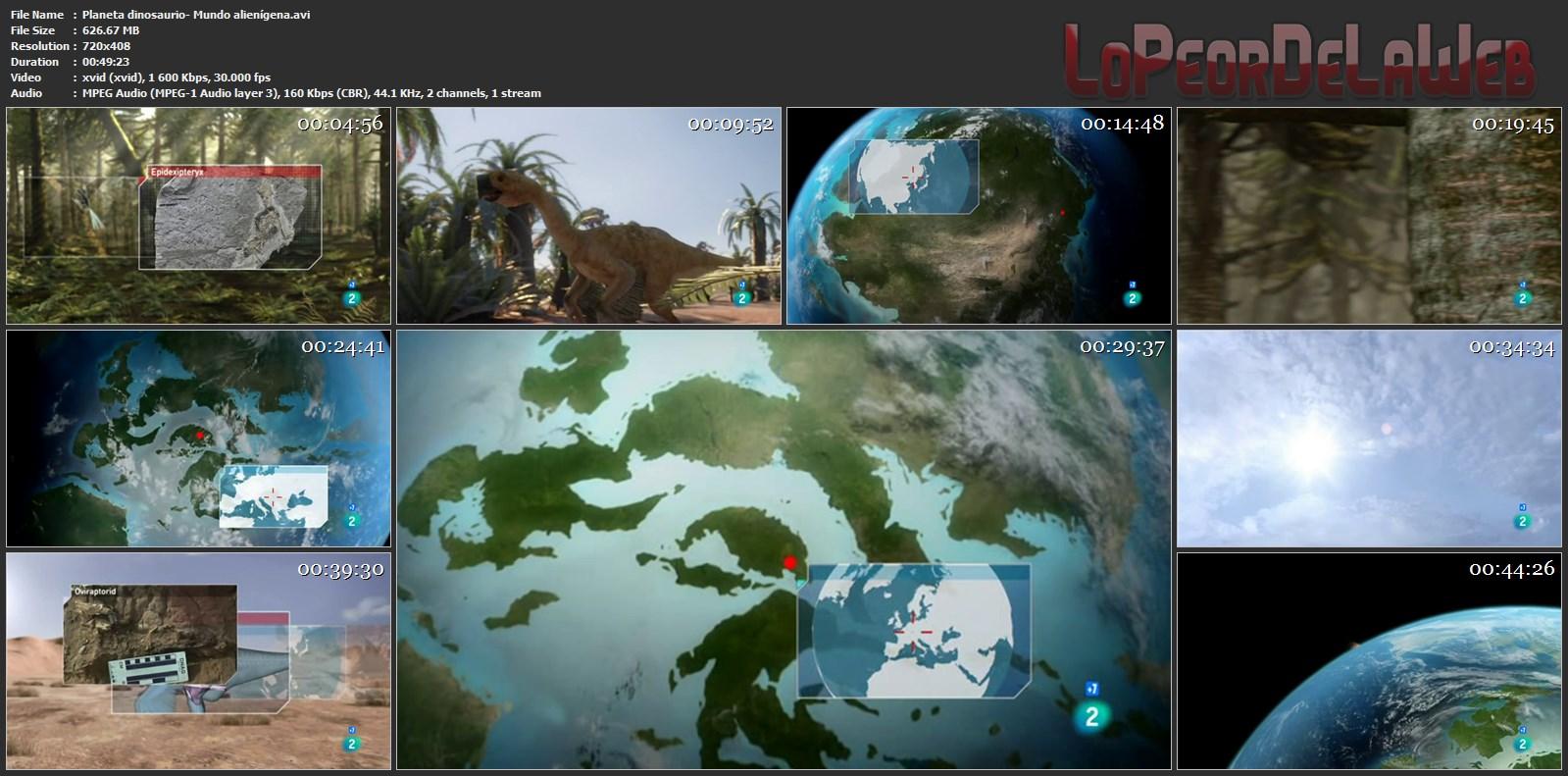 Planeta Dinosaurio  - TvRip - BBC - Castellano