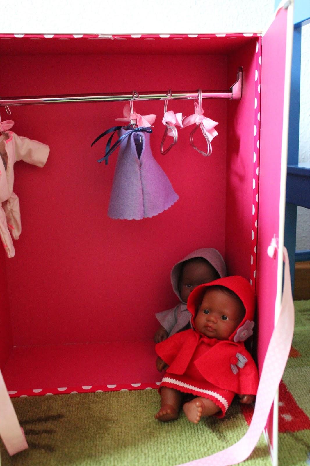 Armario Organizador Plastico ~ PINCHETAS Ropa y armario para muñecas