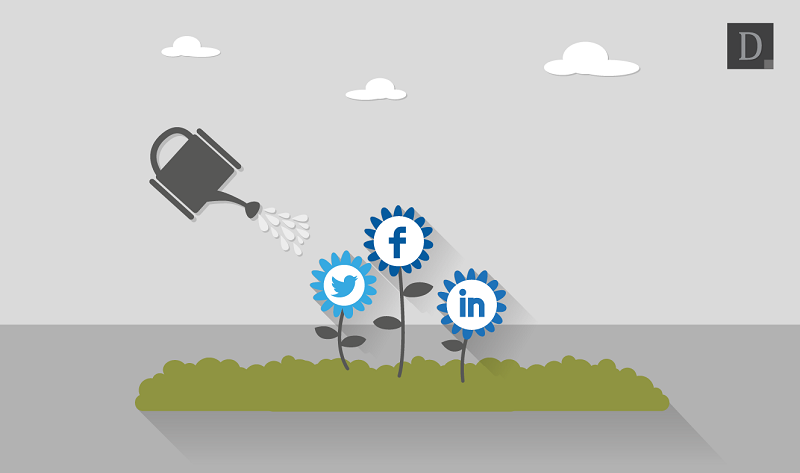 How To Grow Your Business With #SocialMedia - #infographic
