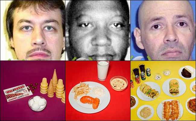 7 Orang dengan Makanan Terakhir sebelum Dihukum Mati