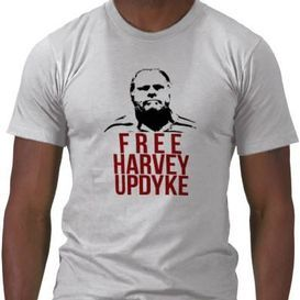 Shirts Without Random Triangles: Someone made a Harvey Updyke t-shirt.