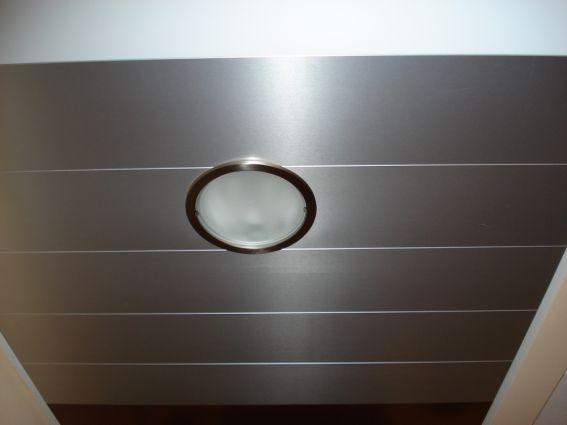 Cerrajeria ramajo techos forrados de lamas de aluminio - Tipos de falsos techos ...
