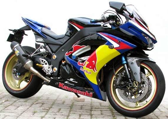 Modifikasi Kawasaki Ninja Warior 250