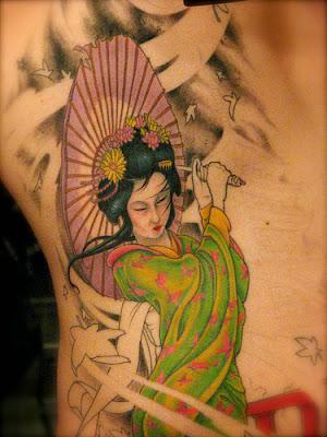 Sugestões e dicas de Tatuagens de Gueixa Femininas