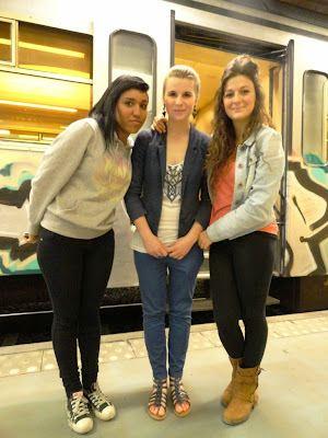 Astrid & friends before dDutch's exam
