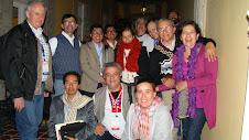 Con compañeros del GT de Desarrollo Rural de CLACSO