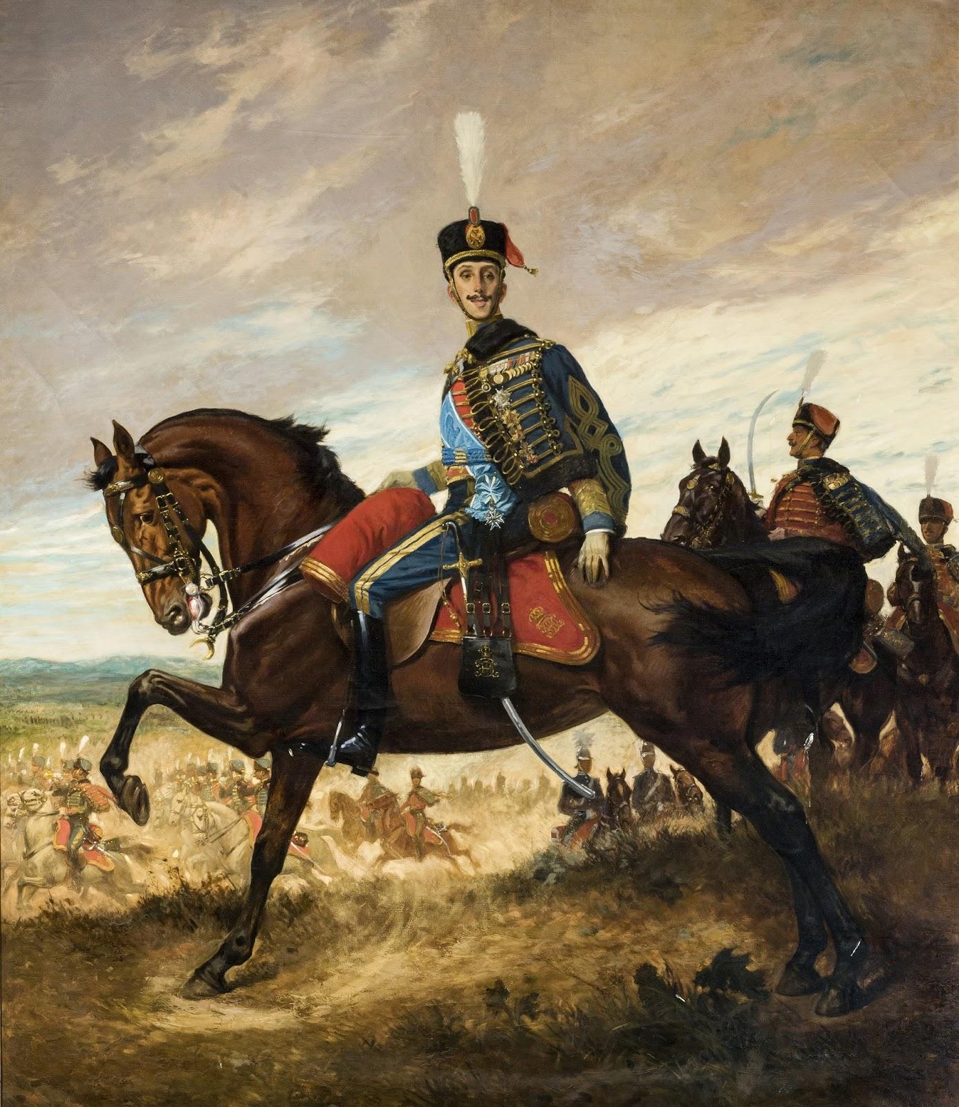 George Scott Keys, Alfonso XIII, retrato