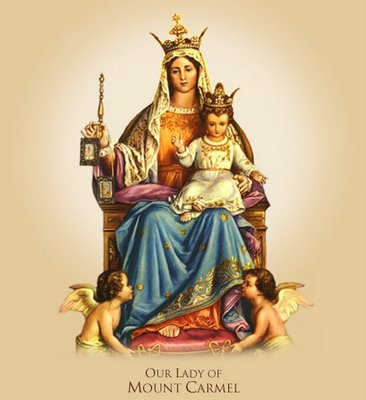 commemoration of the blessed virgin mary of mount carmel