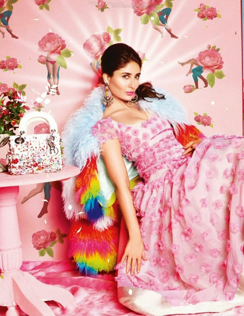 Kareena Kapoor Khan's sizzling spicy photo shoot for  Vogue India March 2014 issue