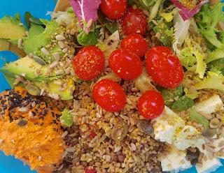 Receta: Super ensalada multicolor! (Con muchos nutrientes).