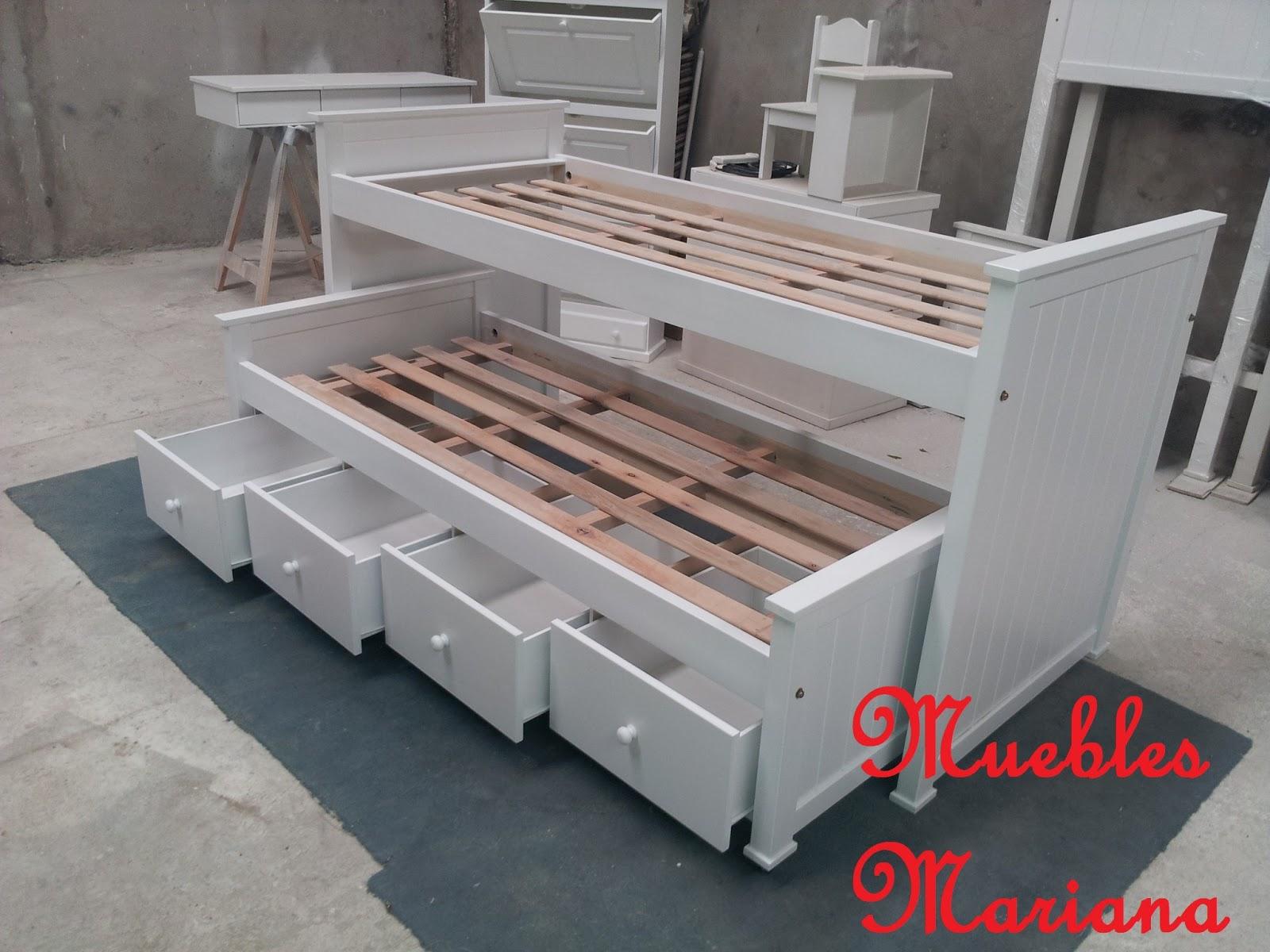 Cama Nido Laqueada MDF  7017509  disponible en BsAs GBA Zona Norte