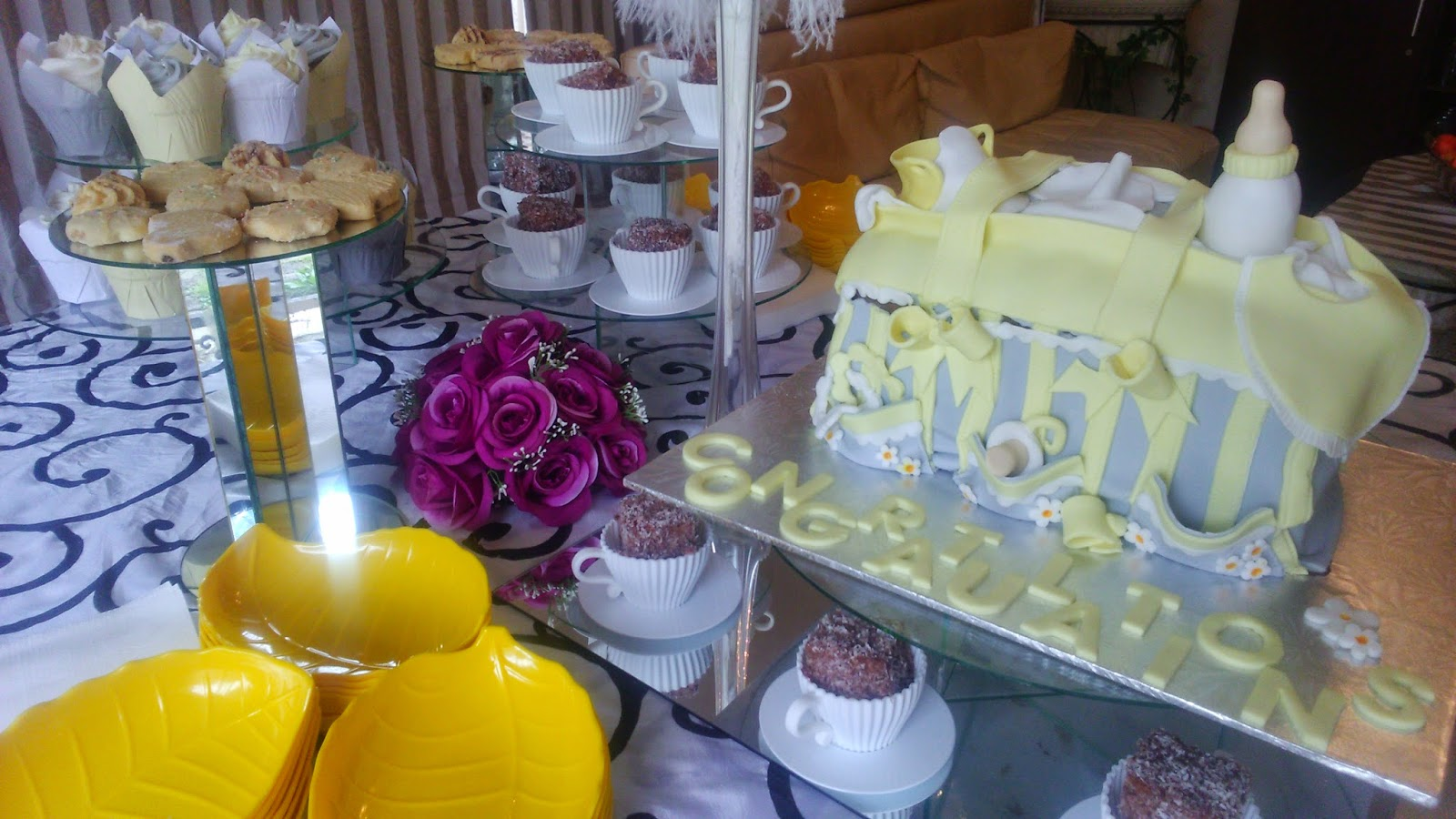 Baby Shower Decor Gauteng ~ Boutique venue with full setups and halaal catering baby shower