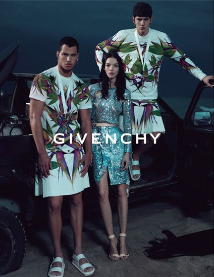 Givenchy spring 2012 ad campaign