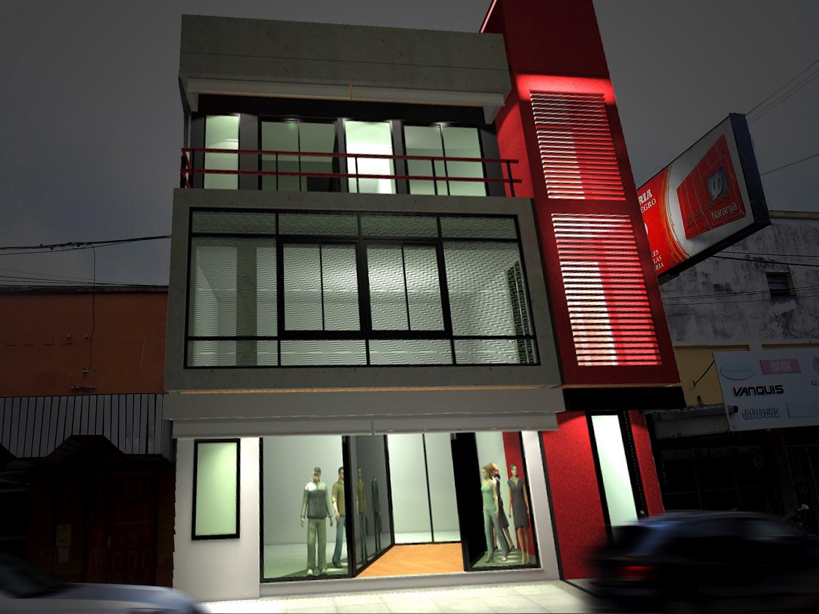 Iu arquitectura y dise o dise o express iuarq fachada for Diseno de edificios