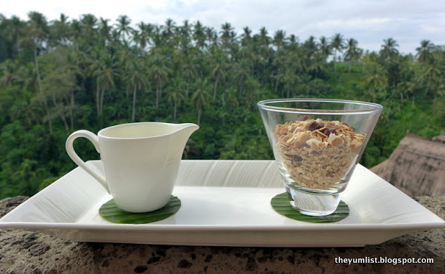 Cascades Restaurant, Breakfast, Viceroy Bali, Ubud, best breakfasts in Ubud