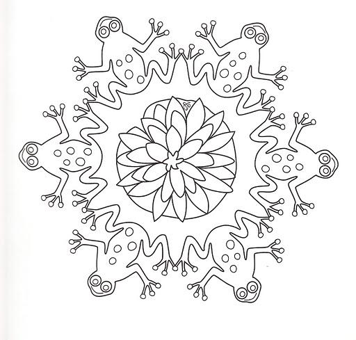 Dibujos y Plantillas para imprimir: Mandalas para niños