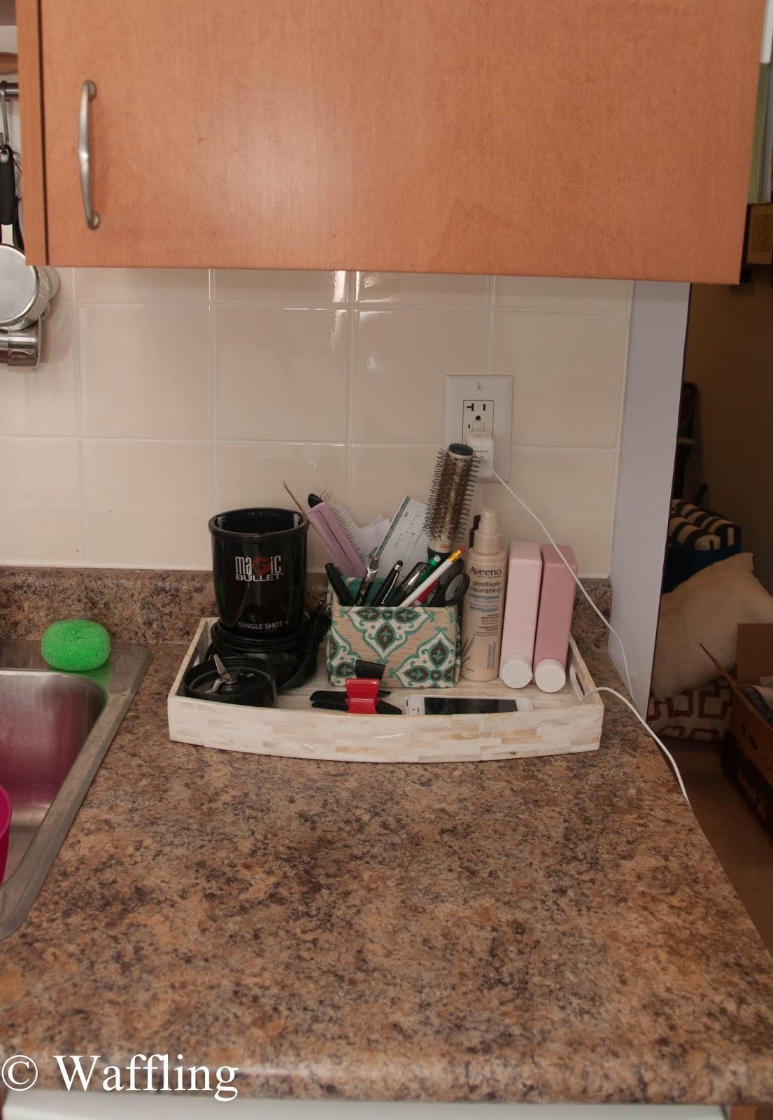 Kitchen Counter Organization Waffling Kitchen Counter Organization
