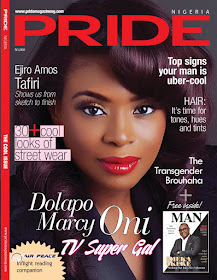 Dolapo Oni for pride magazine