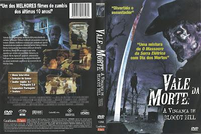 Vale da Morte A Vingança de Bloody Bill DVD Capa