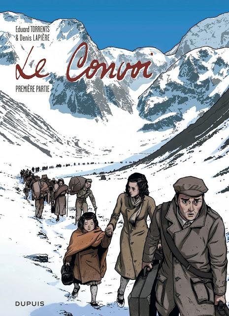 Le convoi - Denis Lapière et Eduard Torrents