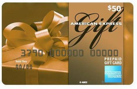 50 amex gift card
