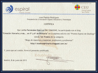 Premios Espiral 2013