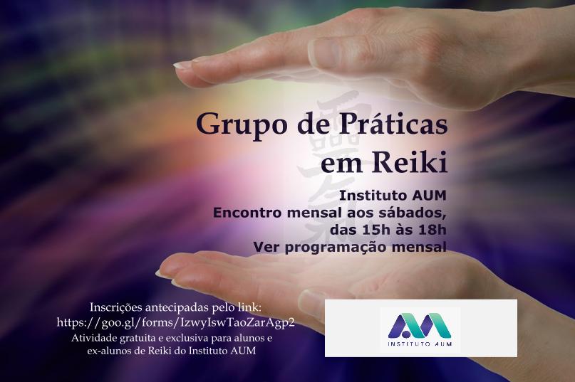 GRUPO DE PRÁTICAS EM REIKI
