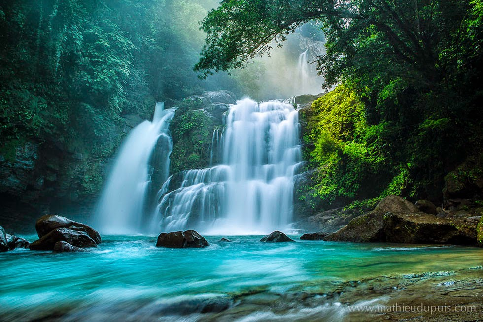 nature photography falls by mathieu dupuis