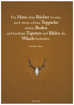 Teppiche Bücher Boden Tapeten Bilder Wände Hermann Hesse