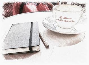 A París con Elena.