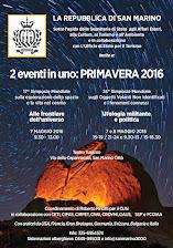 2 EVENTI IN UNO A PRIMAVERA 2016