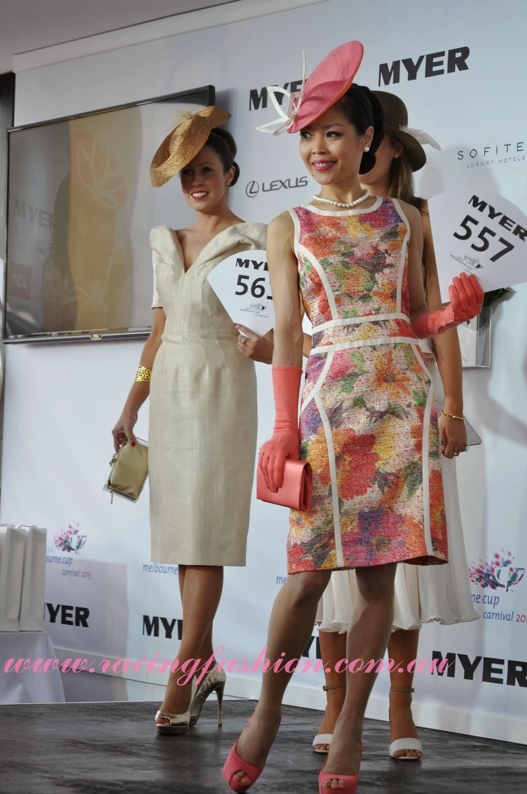 ELLE s Best Dressed From The 2017 Kennedy Oaks Day ELLE 83