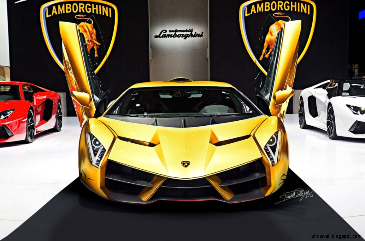 someone rendered a lamborghini