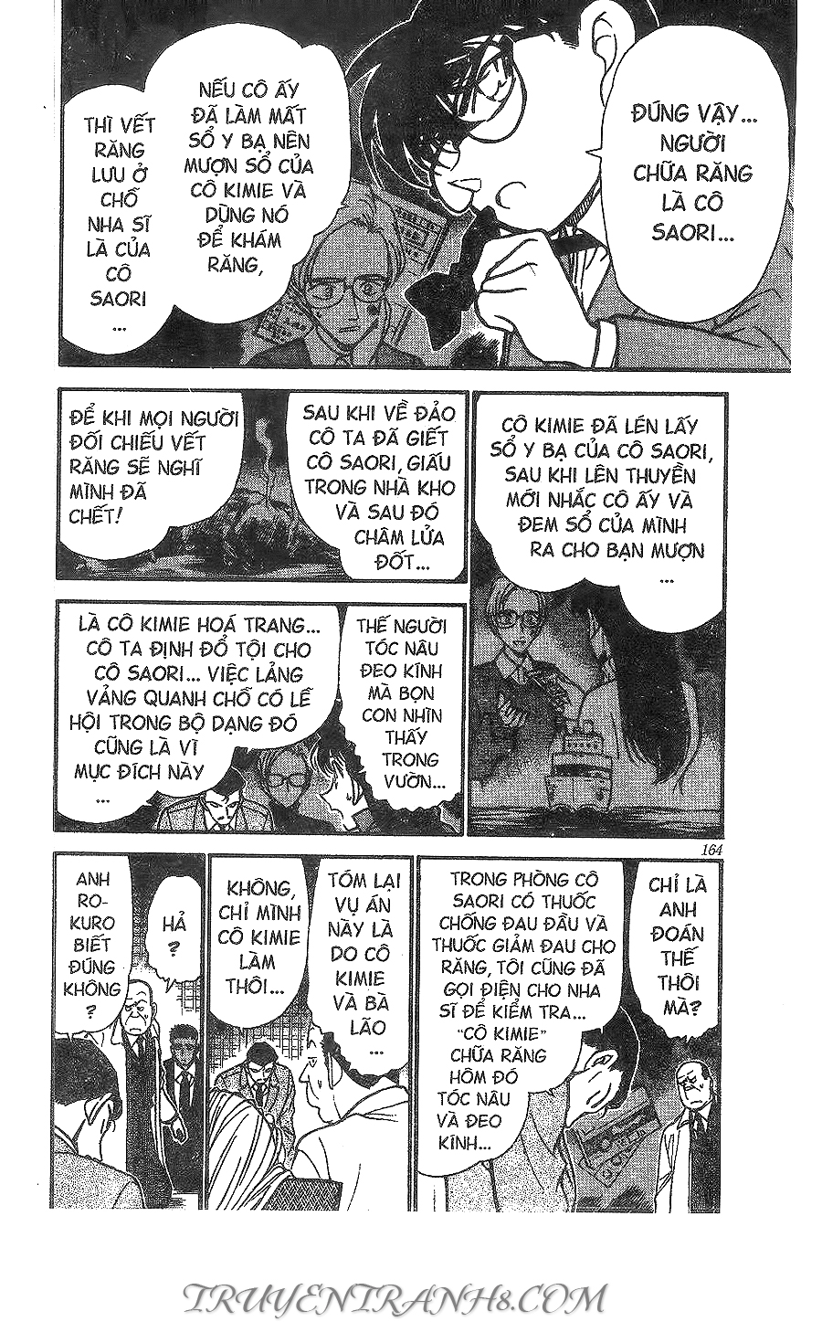 xem truyen moi - Conan Chap 283