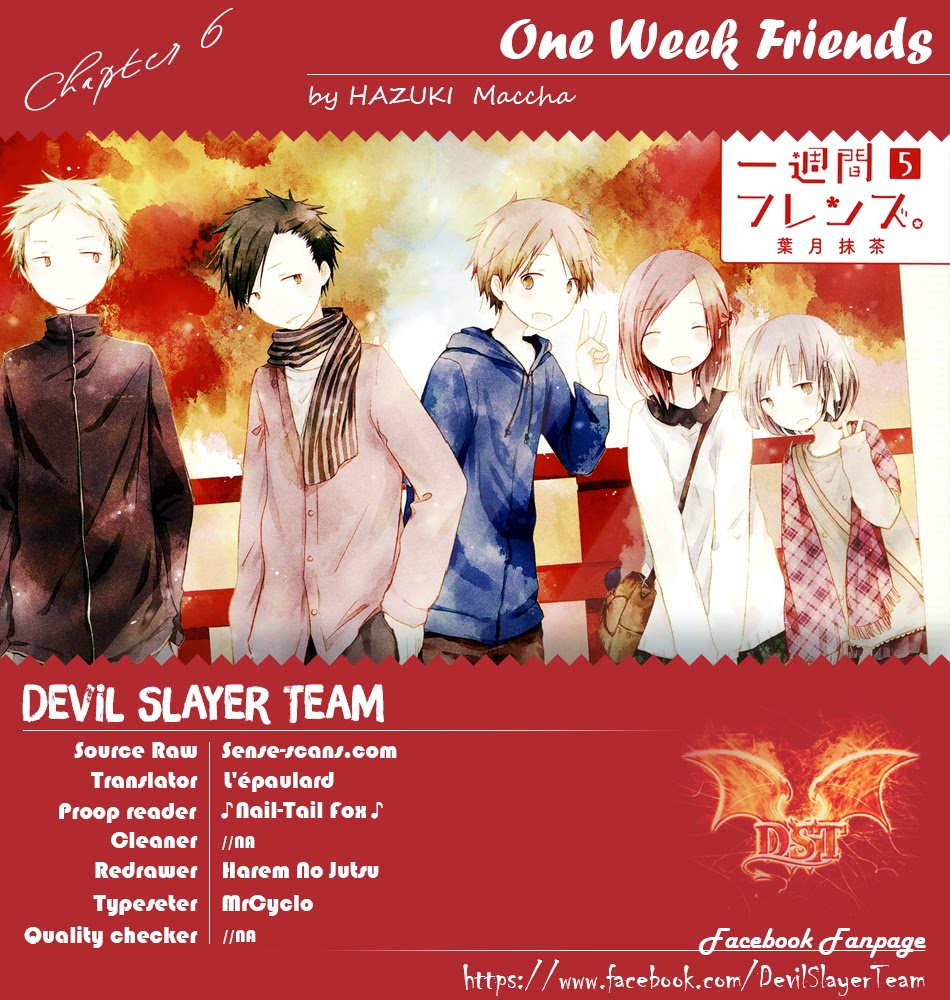 One Week Friends DST Chap 6 - Next Chap 7