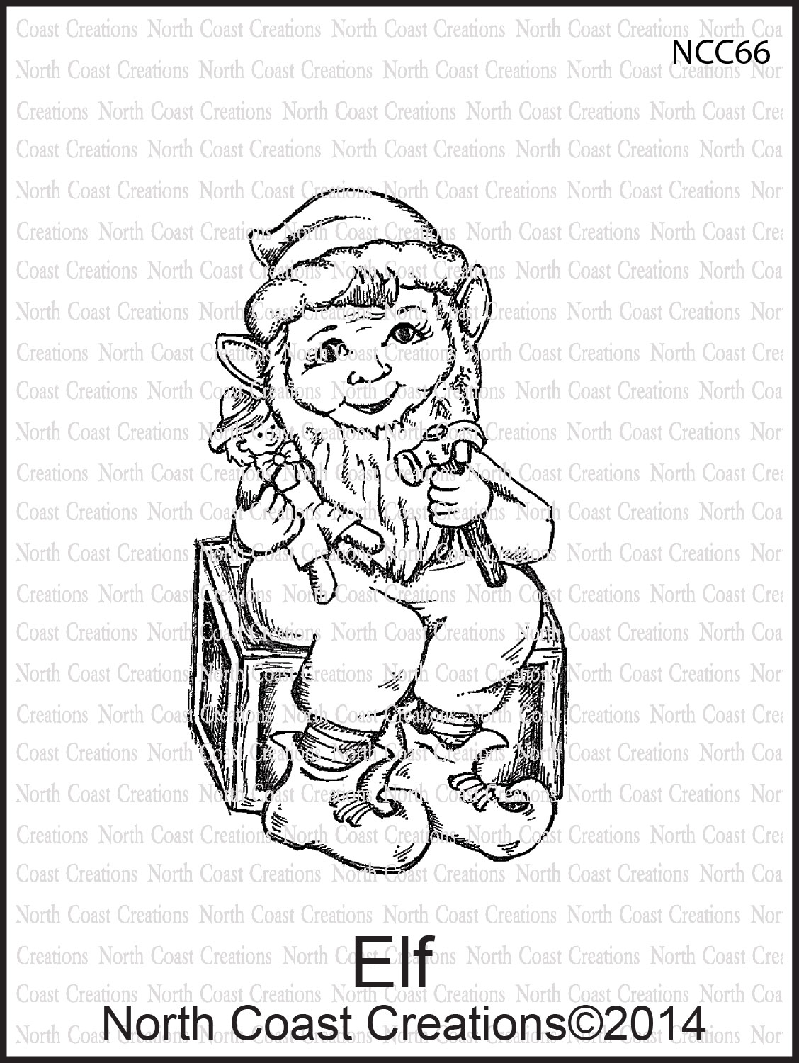 Stamps - North Coast Creations Elf