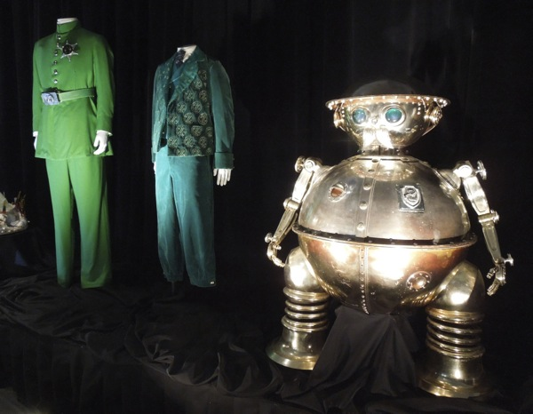 Emerald City costumes Tik-Tok Return to Oz