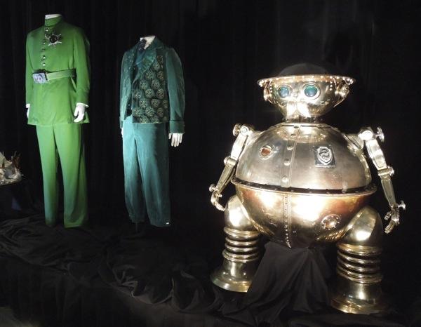 Emerald City costumes Tik-Tok Return to Oz
