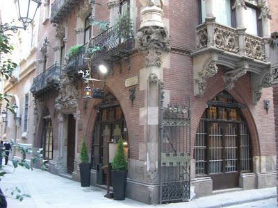Restaurant Els Quatre Gats in Barcelona