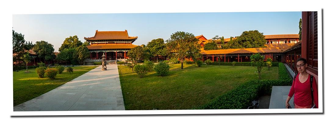 Templo chino de Lumbini