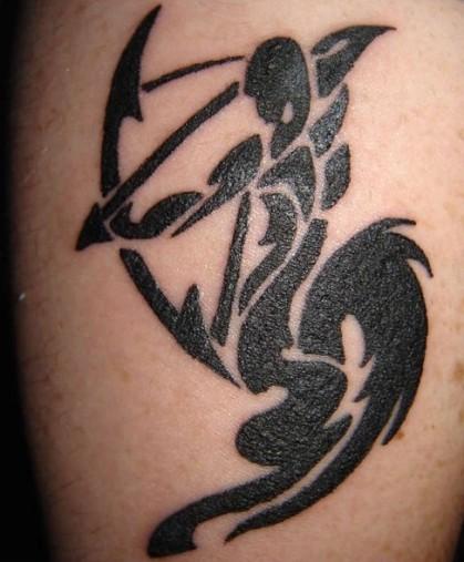 Tatouages De sagittaire sur Pinterest Signe Du  - tatouage sagittaire tribal