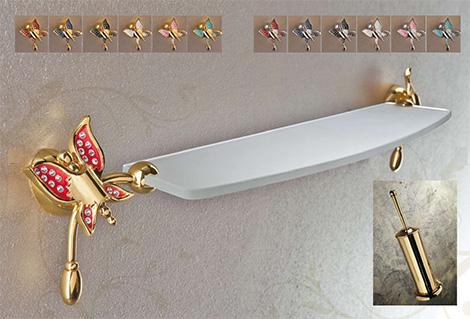 Bellos accesorios para baños variados  Etrusca ...
